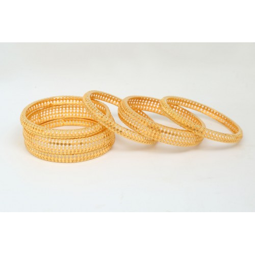 Gold Plated Bracelet - Multiple Sizes