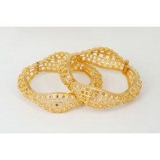 Gold Plated Bracelet Waves Bracelet